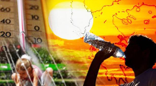 Θερμή εισβολή στην Ελλάδα -Καύσωνας το Σαββατοκύριακο