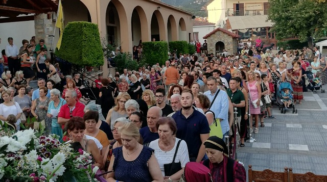 Λαμπρός ο εορτασμός της Αγίας Παρασκευής στην Μαγνησία
