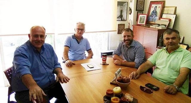 Ο Αλ. Μεϊκόπουλος στον Δήμαρχο Ρ. Φεραίου για το  ζήτημα των αγριόχοιρων