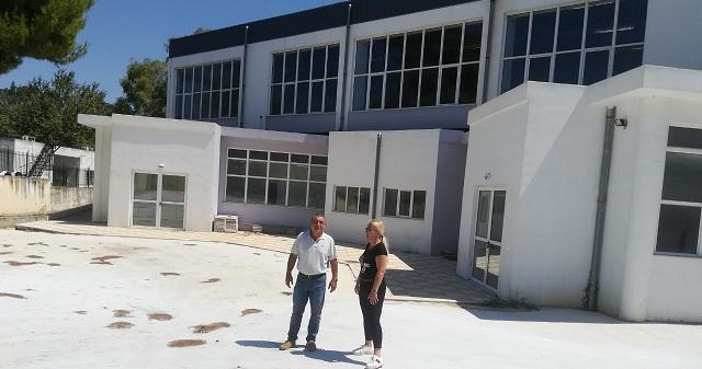 Αυτοψία Δ. Κολυνδρίνη στα υπό κατασκευή έργα στην Αλόννησο