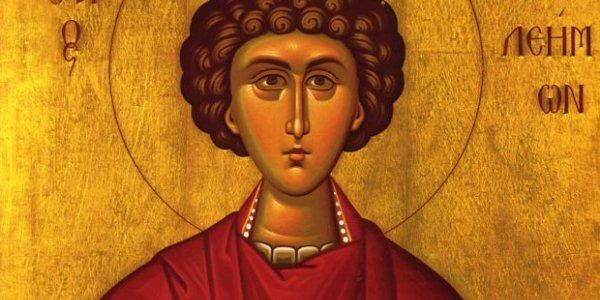 Λαμπρός ο εορτασμός του Αγίου Παντελεήμονος