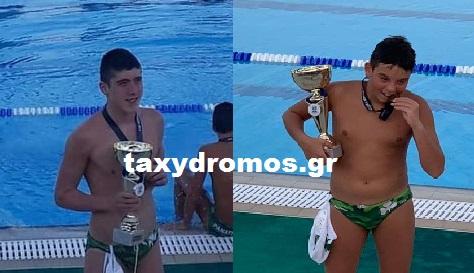 Δύο Βολιωτάκια πρωταθλητές Ελλάδας