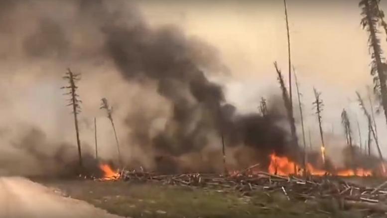 Σε έκτακτη ανάγκη περιοχές της Σιβηρίας, όπου μαίνονται καταστροφικές φωτιές