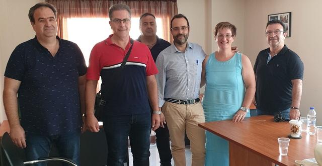 Συνάντηση του Κων. Μαραβέγια με Εξωτερικούς Φρουρούς Καταστημάτων Κράτησης
