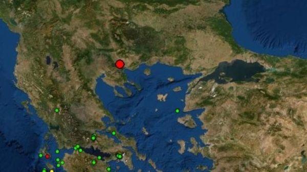 Σεισμική δόνηση 3,7 Ρίχτερ με επίκεντρο τη Νιγρίτα Σερρών