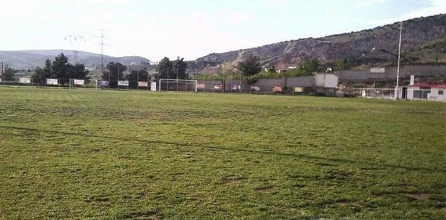 Έργα αποκατάστασης στο γήπεδο του Σαρακηνού