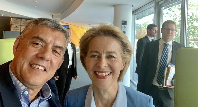 Συγχαρητήρια επιστολή του Κ. Αγοραστού στη νέα Πρόεδρο της Ευρωπαϊκής Επιτροπής