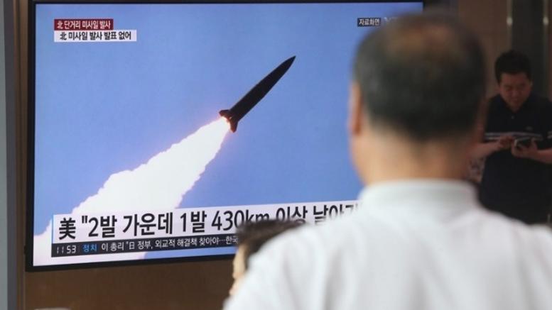 Τρίτωσε το κακό: Νέος πύραυλος από την Βόρεια Κορέα