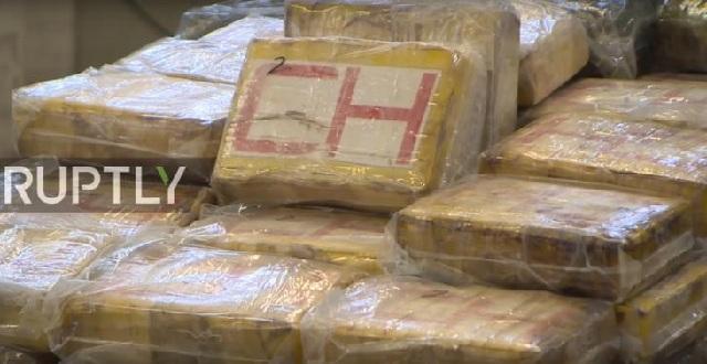 Κατασχέθηκαν 4,5 τόνοι κοκαΐνης σε κοντέινερ, αξίας 1 δισ. ευρώ
