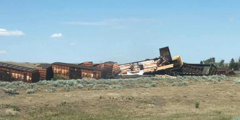 Καναδάς: Εκκένωση έπειτα από εκτροχιασμό τρένου - Ανησυχία για χημικές ουσίες