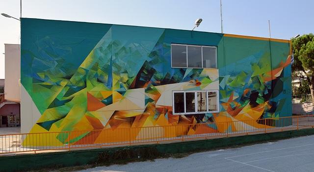 Νέες εντυπωσιακές τοιχογραφίες στον Βόλο από την UrbanAct