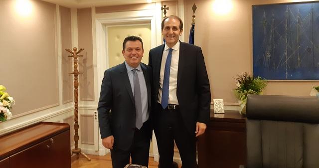 Συναντήσεις Χρ. Μπουκώρου με υπουργούς για ζητήματα της Μαγνησίας