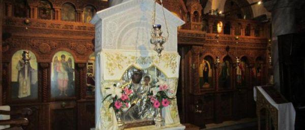 Σε προσκύνημα στον ναό Κοιμήσεως της Θεοτόκου η Παναγία Δαμάστα