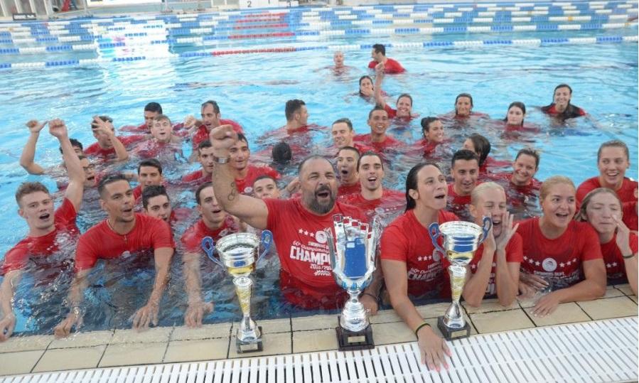 Πρωταθλητής Ελλάδος στην κολύμβηση για 24η σερί χρονιά ο Ολυμπιακός της βολιώτισσας Απλαντή