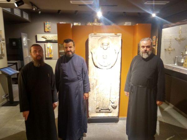 Ιεράρχες του Οικουμενικού Πατριαρχείου στη Μακρινίτσα