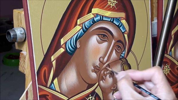 Εκθεση αγιογραφίας στον Αγιο Γεώργιο Νηλείας
