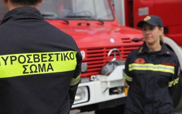 Πυρκαγιά σε νταμάρι στη Σούρπη