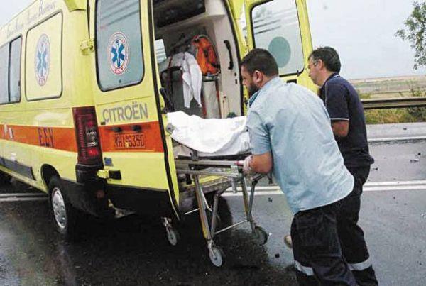Τραυματισμός δικυκλιστή στο Αερινό