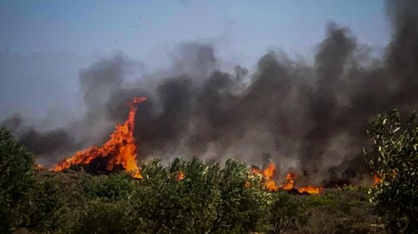 Κυριακή, η πιο επικίνδυνη ημέρα για πυρκαγιά