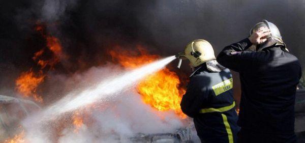 Στις φλόγες αυτοκίνητο στο Διμήνι