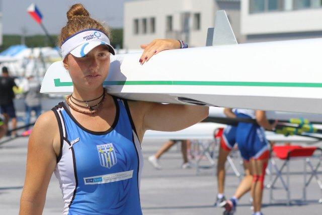 Μια ανάσα από το μετάλλιο η βολιώτισσα Νόνη στο Παγκόσμιο πρωτάθλημα του Τόκιο