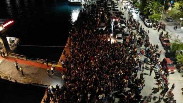 Σαμοθράκη: Στο 50% οι ακυρώσεις λόγω αποκλεισμού του νησιού