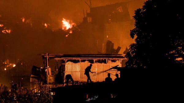 Μπαγκλαντές: 10.000 άστεγοι από πυρκαγιά σε παραγκούπολη