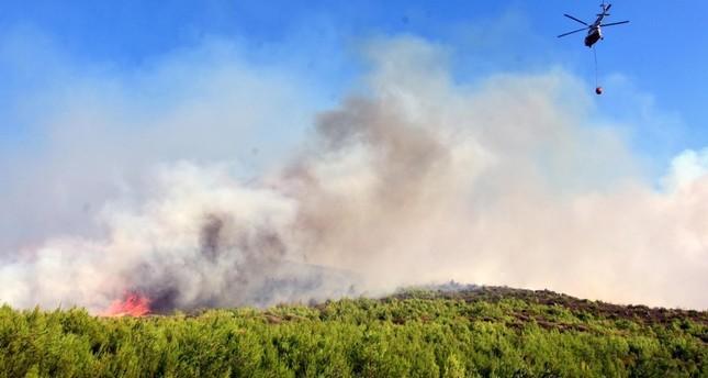 Τουρκία: Μεγάλη φωτιά σε δάσος νότια της Σμύρνης - «Πνίγεται» στον καπνό η Σάμος