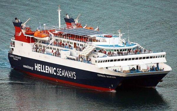Aναγκαστική επιστροφή του Skiathos Express για να αποβιβάσει 37χρονη ασθενή