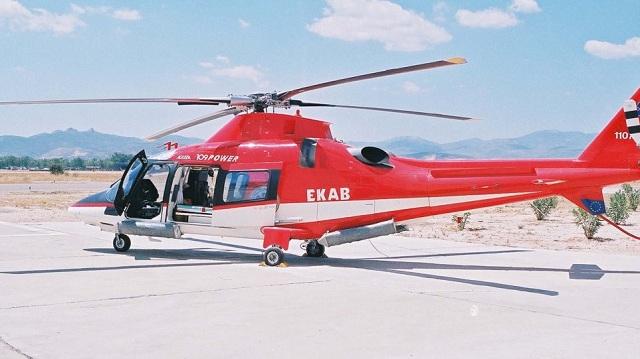 «Αερογέφυρα» σωτηρίας του ΕΚΑΒ για δύο τραυματίες