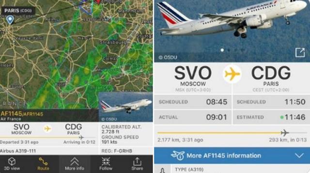 Θρίλερ στον αέρα για πτήση της Air France