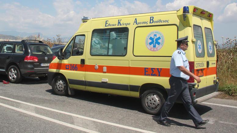 Ένας νεκρός και δύο τραυματίες σε τροχαίο στην Εγνατία Οδό
