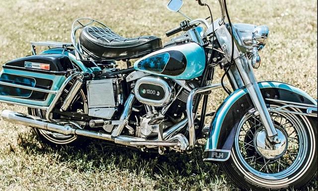 Σε δημοπρασία η τελευταία Harley-Davidson του Elvis Presley