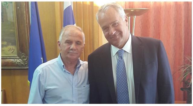 Σειρά επαφών του προέδρου του Συνεταιρισμού Ν. Αγχιάλου στην Αθήνα