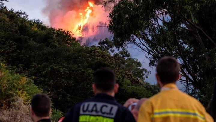Η πυρκαγιά στο Γκραν Κανάρια τέθηκε υπό έλεγχο