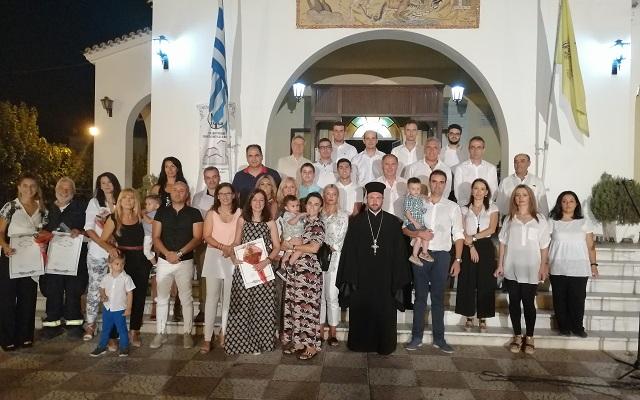 Βραδιά βυζαντινών ύμνων στον Ι.Ν. Αγ. Γεωργίου Αγριάς