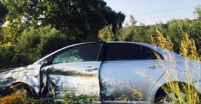 Τραυματισμός νεαρής κοπέλας σε τροχαίο στην παλιά εθνική Λάρισας -Βόλου