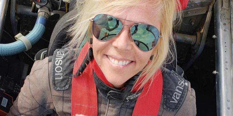 Σκοτώθηκε στα 39 της η γρηγορότερη γυναίκα οδηγός