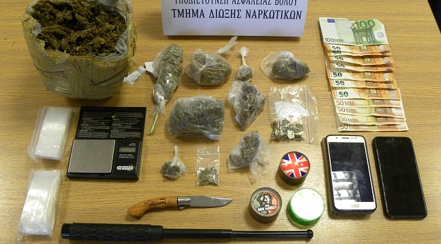 Τρεις συλλήψεις στην Σκόπελο για καλλιέργεια κάνναβης