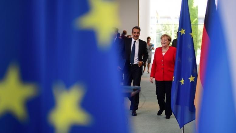 Ανακοίνωση της καγκελαρίας για τη συνάντηση Μέρκελ - Μητσοτάκη