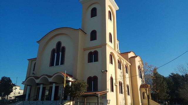 Η εικόνα της Παναγίας Ξενιάς στον Ναό Αγ. Νεκταρίου Ν. Ιωνίας