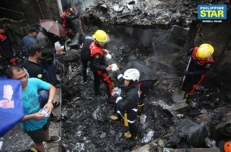 Αεροπορική τραγωδία στη Μανίλα