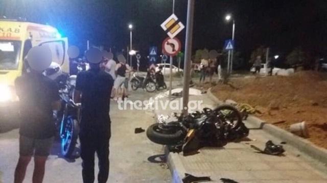 Νέα τραγωδία στη Θεσσαλονίκη: Νεκροί δύο νεαροί με μοτοσυκλέτα