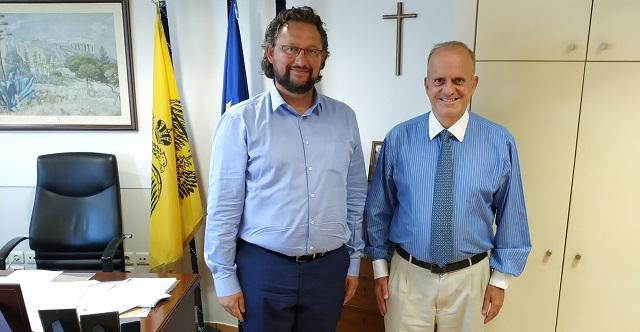 Συναντήσεις Αθ. Ζλατούδη σε Υπουργεία για θέματα των Σποράδων
