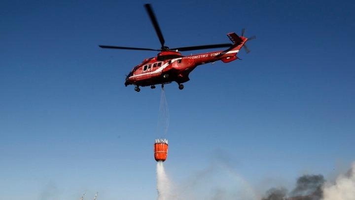Σε ύφεση η φωτιά στη Νέα Μάκρη: Καταγγελίες για εμπρησμό