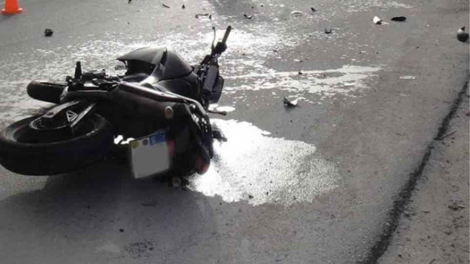 Ακρωτηριάστηκε οδηγός μηχανής μετά από τροχαίο