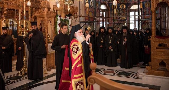 Λαμπρή η πανήγυρις της Μονής Παμμεγίστων Ταξιαρχών
