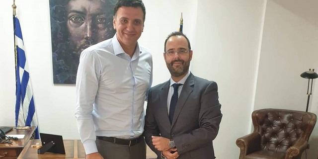 Συνάντηση του Κων. Μαραβέγια με τον Υπουργό Υγείας Β. Κικίλια