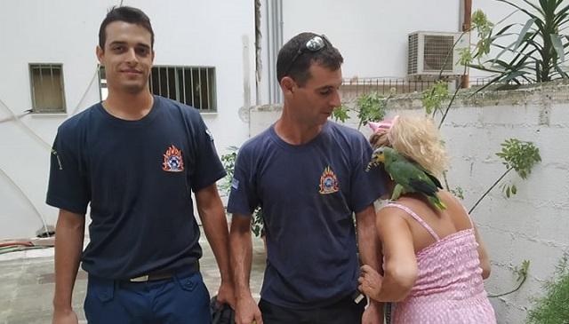 Παπαγάλος «σήκωσε» στο πόδι την Πυροσβεστική Βόλου