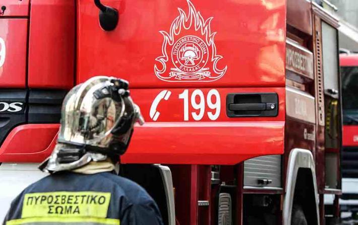 Πυρκαγιά στη Σιθωνία Χαλκιδικής - Συναγερμός στη Χαλκιδική